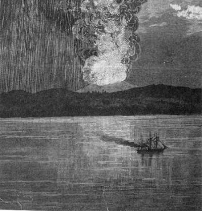 Eruption Tambora 1815