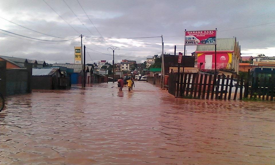 Inondations à Madagascar