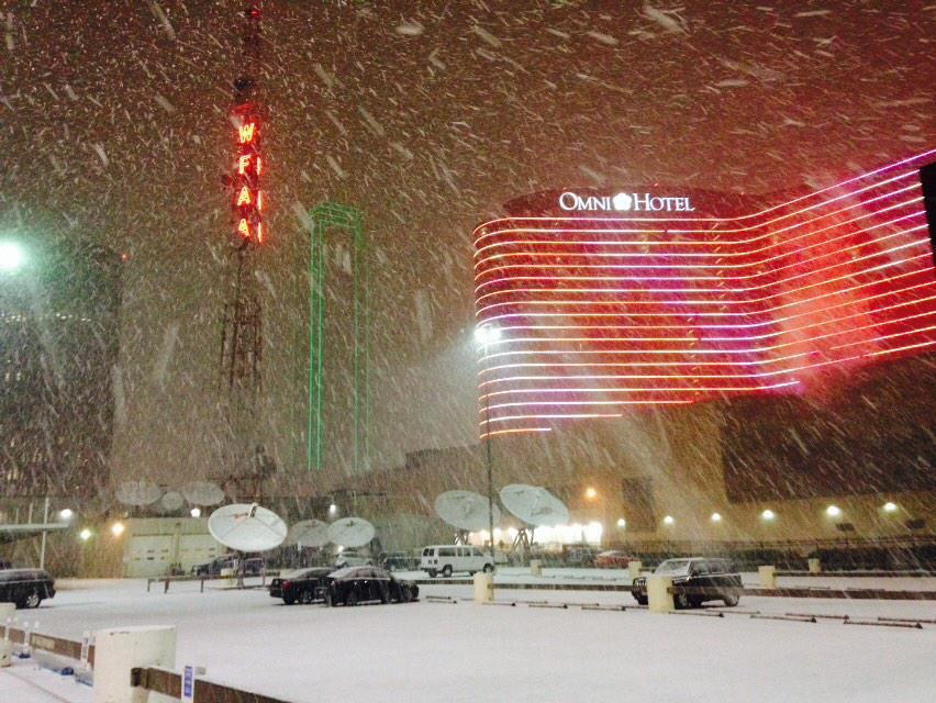 Froid et neige aux US