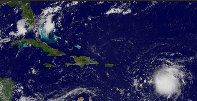 Tempête tropicale Erika