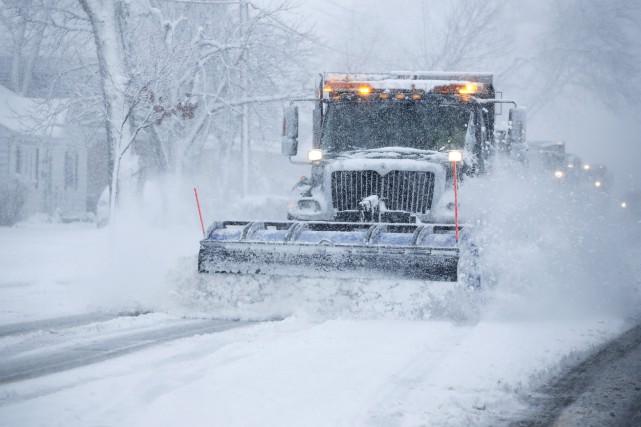 Froid et neige dans le Midwest