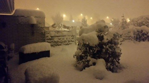 60 cm de neige au Danemark