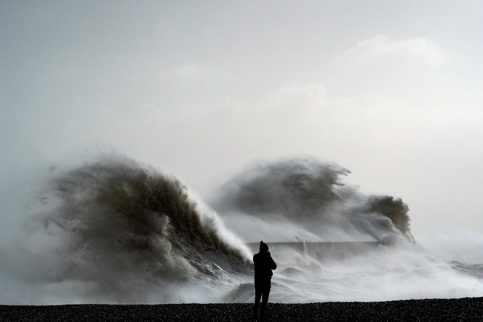 France : tempête et dégâts