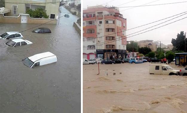 Intempéries en Tunisie