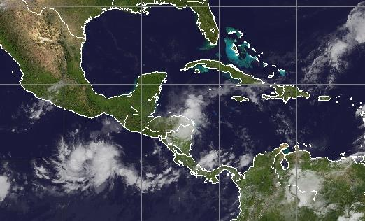 Tempête tropicale Hanna au Nicaragua