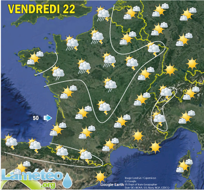 Meteo 15 jours